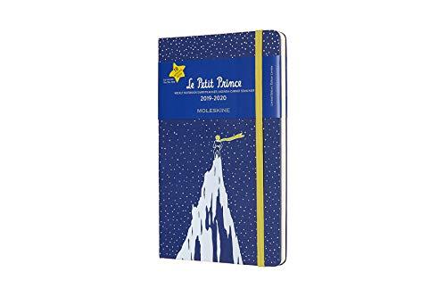 Moleskine Wochen Notizkalender, Taschenkalender, 18 Monate, 2019/2020, Der Kleine Prinz, Large, A5, Hard Cover, Berg (Kleiner-kalender)