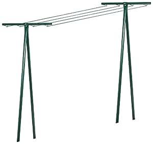 Brico-materiaux - Séchoir tube acier / Peinture verte