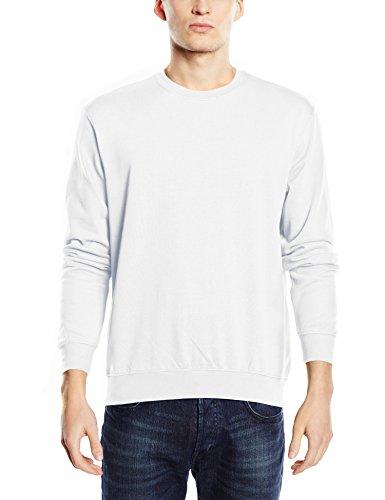 Stedman Apparel Herren Sweatshirt Weiß - Weiß