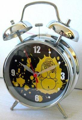United Labels 805655 - Despertador grande, diseño de Simpsons