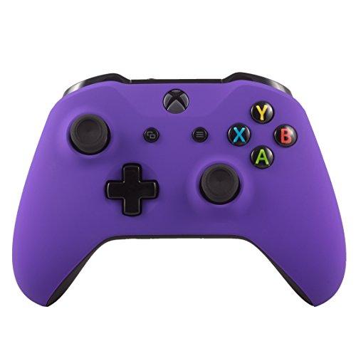 Microsoft Controller wireless Bluetooth Xbox One S per Xbox One Soft Touch personalizzato Viola
