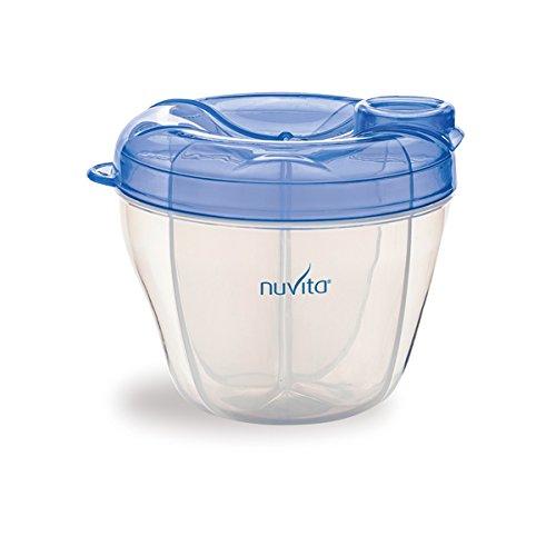 Nuvita NU-ALPL0001  1461 Contenitore e Dosatore per Latte, Azzurro / Blu