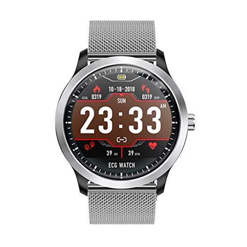 Smart Watch,Yallylunn Watch Silikonband Anzeige Blutdrucküberwachung Herzfrequenzmonitor Messung,Blutdruck Uhr Mit Pulsuhren Ip67 Wasserdicht Sport Aktivitätstracker Fitness