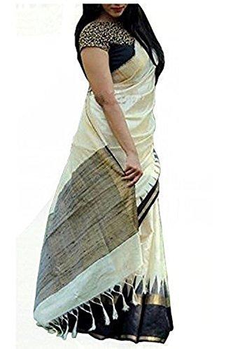 542a2de72 79% OFF on Manorath® Cotton Silk Saree on Amazon