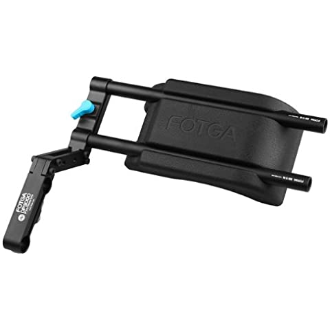 FOTGA DP3000 M2 spalla Videocamera pad + 2PCS 15 millimetri Rod 1 Staffa di Supporto Sistema