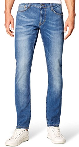 Mustang Herren Fit Jeans Oregon Tapered super stone washed