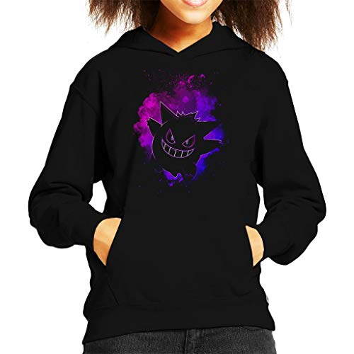 Soul of The Ghost Gengar Pokemon Kid's Hooded Sweatshirt