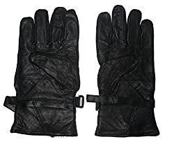 S.K Men Leather Winter Gloves