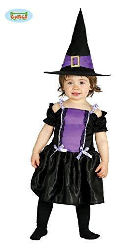 Baby Hexenkostüm Kostüm Hexe für Kinder Hexen Halloween Babykostüm Gr. 74-92, ()