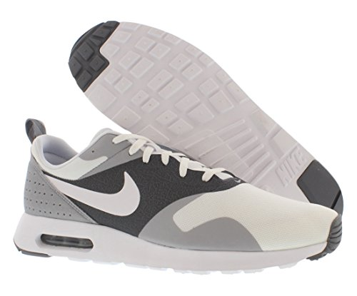 Nike Air Max Tavas, Running Entrainement Homme Blanc et gris