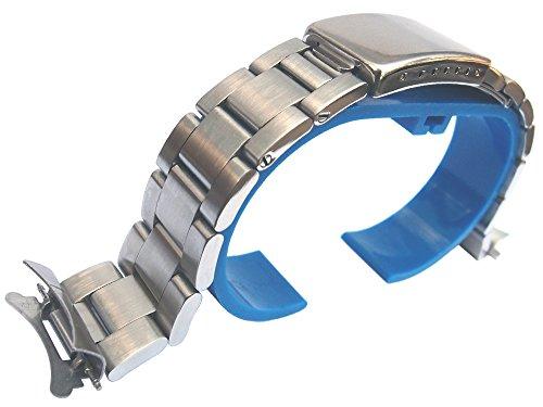 20mm in acciaio inox massiccio Ostrica stile braccialetto ricambio per Sandoz Submariner