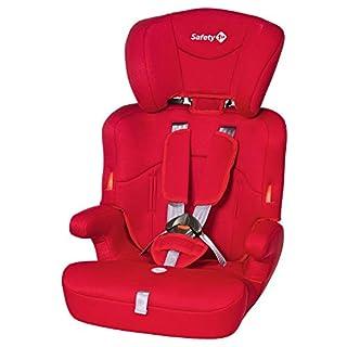 Safety 1st Ever Safe Auto-Kindersitz 9-36 kg, mitwachsender Gruppe 1/2/3 ab ca. 12 M. bis 12 J., full red (rot)