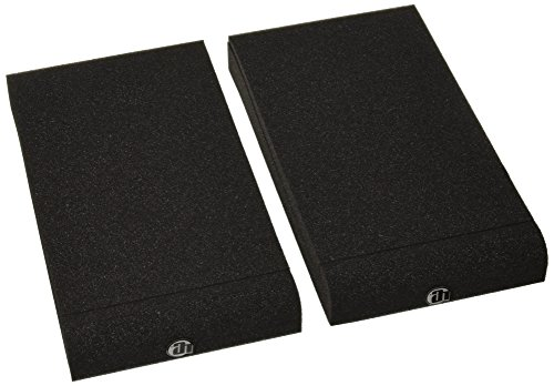 Adam Hall Stands SPADECO1 PAD ECO Serie Absorberplatte für Studio Monitor anthrazit