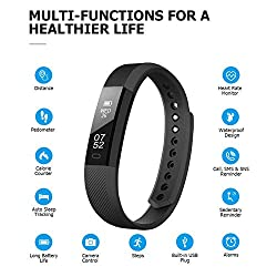 Activity tracker with heart rate monitor fitbit | Hardware-Store co uk/