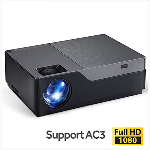 Jasbo Full Hd Projector, 1920x1080 Resolution. Led Projektor Support Ac3. Home Theater. 5500 Lumen. (optional Android WiFi) M18 M18-TP Lcd Ceiling Support