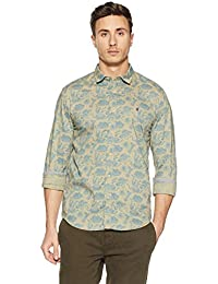 LP Jeans By Louis Philippe Men's Printed Slim Fit Casual Shirt