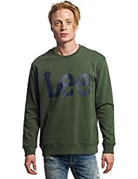 LEE Logo Sweatshirt, Sweat-Shirt Homme
