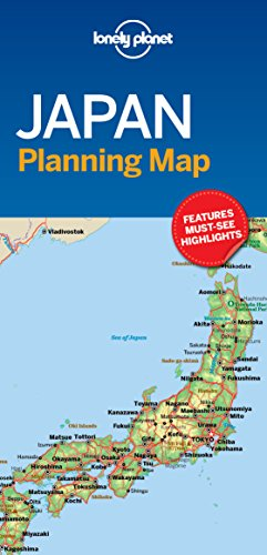 Japan Planning Map (Lonely Planet)