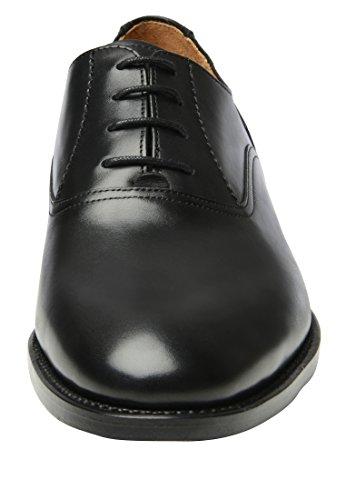 SHOEPASSION.com , Chaussures de ville à lacets pour homme Noir Noir Noir