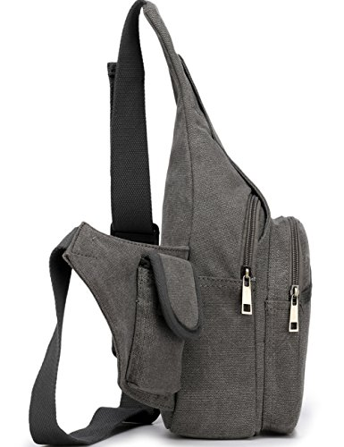 Aidonger Portadocumenti da collo, Grau (grigio) - BB97-GY Grau