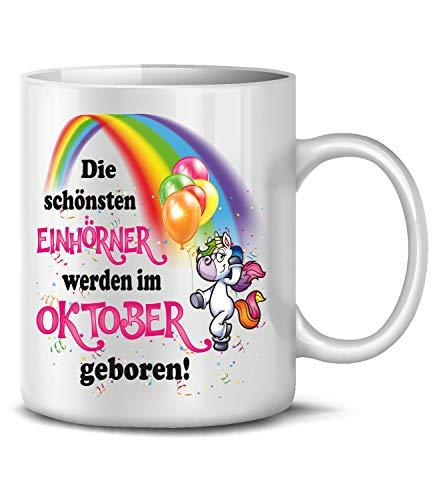 Golebros Welfe Fokoladenkekfe 5938 Einhorn Unicorn Damen Hoodie Schwarz S
