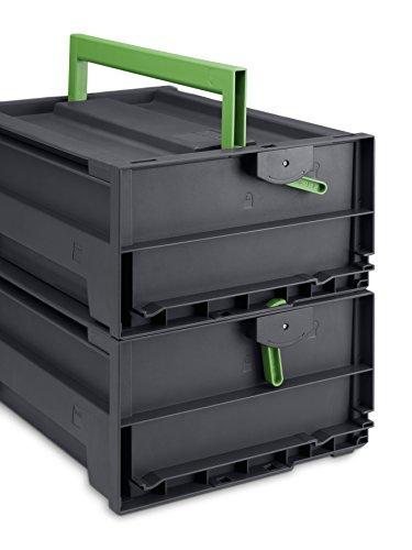 bott varioSafe L Tragebox mit Trennwand, 454 x 318 x 188 mm, 62511042.19V - 3
