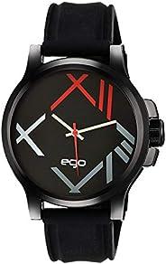 Ego by Maxima Analog Black Dial Men's Watch - (E-01174P