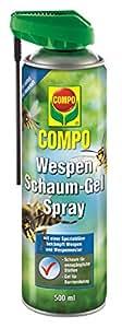compo wespen schaum gel spray kontaktherbizid spray gegen. Black Bedroom Furniture Sets. Home Design Ideas
