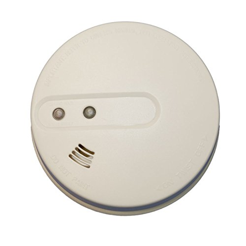 Sécurité Mania - Détecteur de fumée connecté pour alarme de maison - Compatible avec tous nos systèmes d'alarmes radio 433Mhz