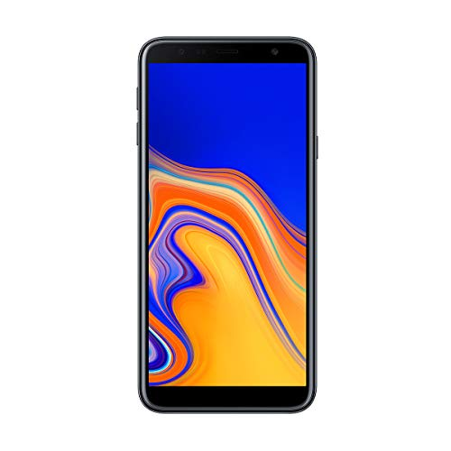 "Samsung Galaxy J4+ - Smartphone de 6"" (Quad Core 1.4 GHz, RAM de 2 GB, Memoria de 32 GB, cámara de 13 MP, Android) Color Negro"