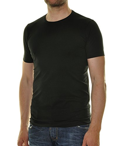 Hohe Qualität T-shirt (RAGMAN Herren 2 T-Shirt Doppelpack Bodyfit mit Rundhals)