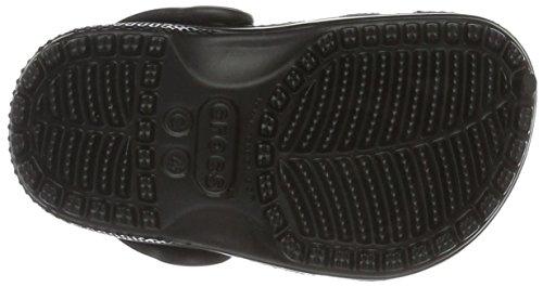 Crocs Classic Clog K Blk, Sabots Mixte Enfant Noir (Black)