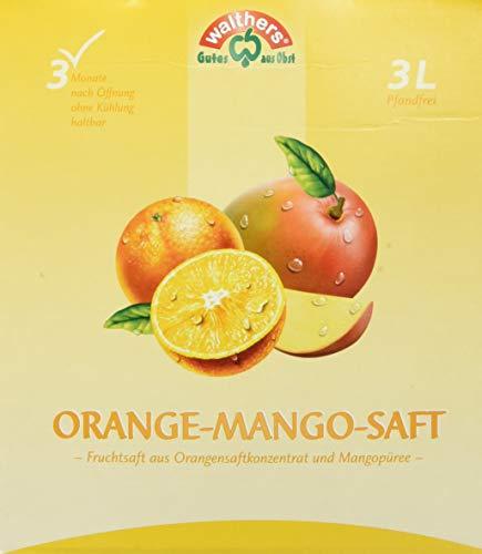 Walther's Orange-Mango-Saft, 1er Pack (1 x 3 l) (Mango-saft)