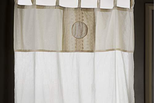 Amaranda casa tenda con lacci avignon cotone 100% cm 140x280