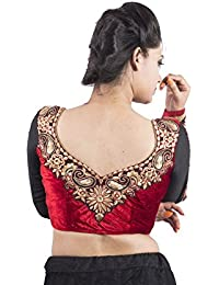 a0f0bbe5a0d94f INTRIGUE Women's Saree Blouses Online: Buy INTRIGUE Women's Saree ...