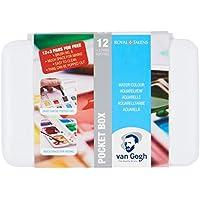 Estuche Pocket Box 12+3 Acuarela Van Gogh