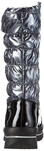 Caprice 26407 Damen Warm gefütterte Schneestiefel Grau (GREY/BLACK 208)