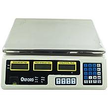 Báscula electrónica 40 kg Profesional Digital para Pesar Frutas ...
