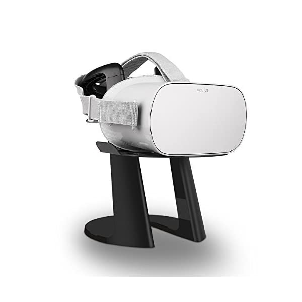 afaith vr stand, universal vr display mount and headset holder for oculus go & rift, htc vive, samsung gear vr, sony playstation ps vr AFAITH VR Stand, Universal VR Display Mount and Headset Holder For Oculus Go & Rift, HTC Vive, Samsung Gear VR, SONY PlayStation PS VR 41kFXWC016L