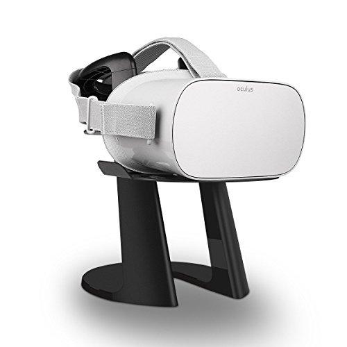 AFAITH Support Stand d'affichage VR, Casque Support de Stockage de réalité virtuelle pour Casque HTC Vive et Casque HTC Vive Pro (Noir)