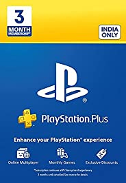 PlayStation Plus: 3 Month Membership Card (Email Delivery in 1 hour- Digital Voucher Code)