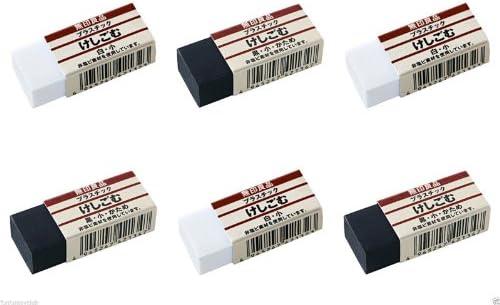 Moma Muji nero & bianca bianca bianca Coloreee gomma piccole dimensioni 3 + 3 pz. | Bel Colore  | Fine Anno Vendita Speciale  | Pregevole fattura  2688a2