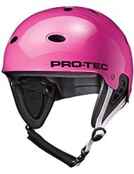 Pro-Tec B2 Wake Casco para Skateboarding, Unisex adulto, Rosa Brillante, XS