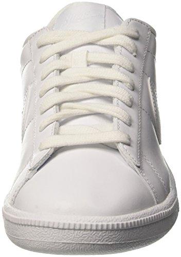 Nike Wmns Tennis Classic, Gymnastique femme Blanc Cassé (WHITE/WHITE-BLUECAP)