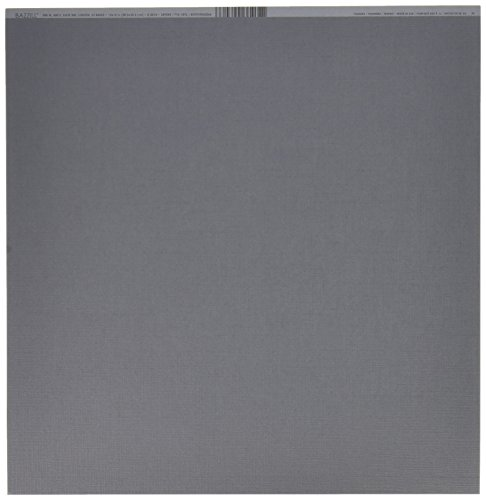 Bazzill Basics Papier 25Scrapbooking Blatt Leinwand Textur, Thunder -