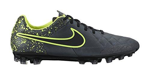 Nike Tiempo Legacy Ag-R, Scarpe da Calcio Uomo Multicolore (Negro / Amarillo (Anthracite / Black-Volt))