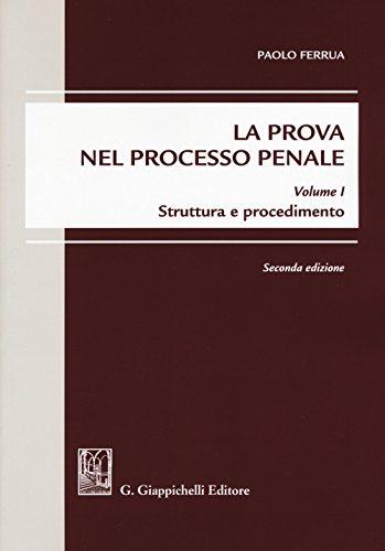 La prova nel processo penale: 1