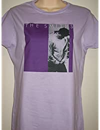 Ladies THE SMITHS 'How Soon Is Now' T Shirt in Lilac (Small 6-8)