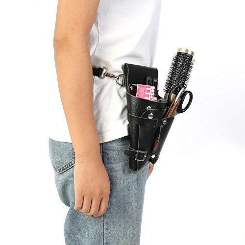 Bolsa de herramientas de peluquería portátil profesional con cinturón para peluquería