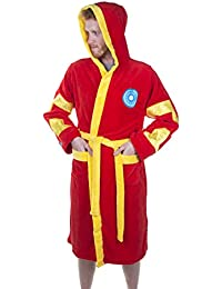 Official Marvel Iron Man Bathrobe/Dressing Gown with Hood